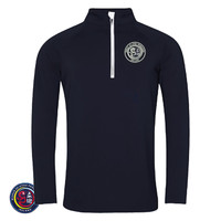 WJJF Ireland Cool Half Zip Sweat Top
